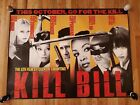 KILL BILL- 2003 Movie Release Subway Poster PROMO ONLY!! 54x40 EXTREMELY RARE!!!