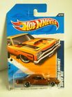 Hot Wheels 2012 Super Treasure Hunt 69 Dodge Coronet Super Bee with Real Riders