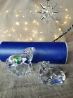 Waterford Crystal The Nativity Collection Sheep and Lamb  Mint Pair