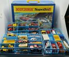 Lot Of Vintage Matchbox Lesley Cars In Carring Case Estate Find