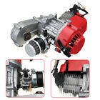 49cc 2 Stroke Air Cooled Scooter ATV Go Kart Moped Engine+Throttle Cable