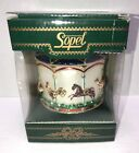 Vintage Sopel Handcrafted Carousel Blown Ornament Made in Poland