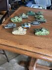 vintage Matchbox Maisto Diecast Tanks Lot Military
