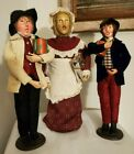 Vintage Victorian Christmas Carolers 12 lot of 3