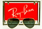 RAY BAN CLASSIC METAL AVIATOR RB3026 Polished Gold Grey Dark Glass 62mm Italy