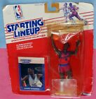 1988 DANNY MANNING Los Angeles Clippers Rookie * FREE s/h * Starting Lineup