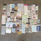 Lot Over 50 Scrapbook Stickers Tags Rub Ons 3D Baby Family Grandparent Tween
