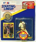 ⚾️ 1991 STARTING LINEUP - SLU - MLB - GEORGE BELL - CHICAGO CUBS - EXTENDED