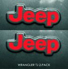 Decal For Jeep Wrangler Tj Side Fender 1997-2006 Jeep Wrangler Set Of 2