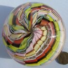 Nice Vintage Art Glass Paperweight Colored Murano