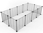 Pet Playpen 12 Panels Small Animals Big Guinea Pig Giant Rabbit Cage Yard Fence