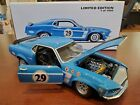 RARE 1969 Trans Am Mustang 29 Boss 302 118 WELLY Die Cast 1 of 1800 MIB