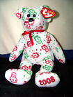 TY Beanie Babies Gingerspice With Tags Christmas Plush NMWT 2008 Very Rare