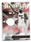 2010 11 ABSOLUTE HOOPLA MEMORABILIA LEBRON JAMES GAME WORN PATCH 38 49