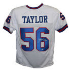 Lawrence Taylor Autographed Signed Pro Style XL White Jersey HOF BAS 29499