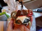DISNEY Parks EAR Hat ORNAMENT PIRATES of the CARIBBEAN Retired NEW WITH TAGS