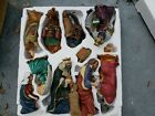 Large 22lbs Ceramic Indoor Nativity Set 13 Piece Set Excellent Condition