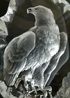 Mats Jonasson Signature Collection Sweden signed Crystal Glass Eagle Art