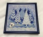 MILL HILL Buttons  Beads WINTER WONDERLAND MH14 9303 FINISHED  FRAMED