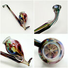 Antique Murano Art Glass Tobacco Pipe Smoking Pipe Hand Blown EOD Whimsy 105