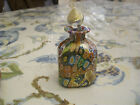 Murano perfume bottle art glass millefiori vintage