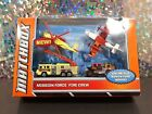 MATCHBOX MISSION FORCE FIRE CREW 4 Pack Of Vehicles 2011 Mattel New Damaged