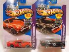 X2 2013 HOT WHEELS SHOWROOM 70 CHEVELLE SS FACTORY SET W23