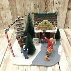 Lemax Village 33001 St. Nicholas's Christmas Tree Lot 2013 Collection In Box