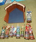 JIM SHORE BETHLEHEMS MIRACLE LARGE NATIVITY HEARTWOOD CREEK 10 PC 2009