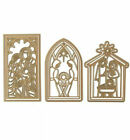 Anna Griffin MINI NATIVITY Cut  Emboss Die Set with 85 x 11 Magnetic Sheet
