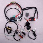 CDI Wire Harness Loom Stator Assembly Wiring Kit Fit for 50cc 125cc ATV Quads