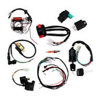 CDI Wire Harness Stator Wiring Solenoid Kit Fit for 50cc 125cc ATV Quads