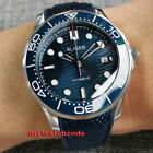 41mm bliger blue wave dial Sapphire glass Japan NH35A automatic mens Watch