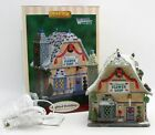 Lemax Porcelain Lighted Building Village Vail Blossom's Flower Shop 2007