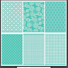 Cricut Cuttlebug 6 piece 5 X 7 Embossing Folders New in Packages