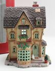 Lemax Porcelain Lighted Building 2006 Village Collection The Flower Pot