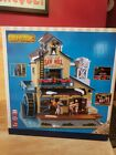LEMAX Holiday House Village EXCLUSIVE MENARDS SAW MILL Animated Sight Sound NEW