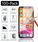 100 Pack iPhone 12 Pro 12 Mini iPhone 12 Pro Max Tempered Glass Screen Protector