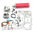4 Stroke Chinese Scooter Big Bore Exhaust Performance Power Pack For GY6 50CC