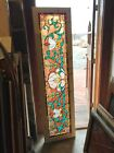 Sg3173 Antique Stained And Beveled Glass Transom Window 2025 X 77