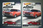 Hot Wheels Premium Fast  Furious 1 4 Mile Muscle 1970 Chevrolet Chevelle SS Red