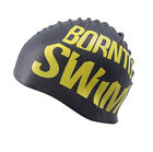 Boron NTO Silicone Swim Swimming Cap For Adults Men Women Teens and Kids Hat