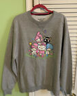 New Hello Kitty and Friends Flower Sweatshirt Size Large Loot Crate exclusive