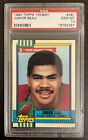 1990 Topps Tiffany #381 JUNIOR SEAU PSA 10 Well Centered WOW!! RARE Rookie M14