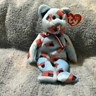 TY Beanie Baby UNION Bear USA Flag Nose (8.5 inch) from 1 Owner Smoke Free Home