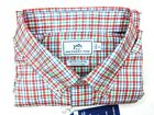 Southern Tide Intercoastal Mens L Sunset Coral Surfsong Stretch Sport Shirt