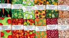 FABRIC QUILTWORK PATCHES ASSORTED VEGETABLE FAT QUARTERS LOT OF 12 NIP