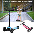 Ajustable Height Kick Kids Scooter 3 Wheel Folding with LED Light 3 8 Years Old