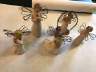 Willow Tree Lot of 5 Ornaments And Figurines 2000 2001 2002 2010