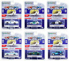 HOT PURSUIT SERIES 36 SET OF 6 POLICE CARS 1 64 DIECAST BY GREENLIGHT 42930